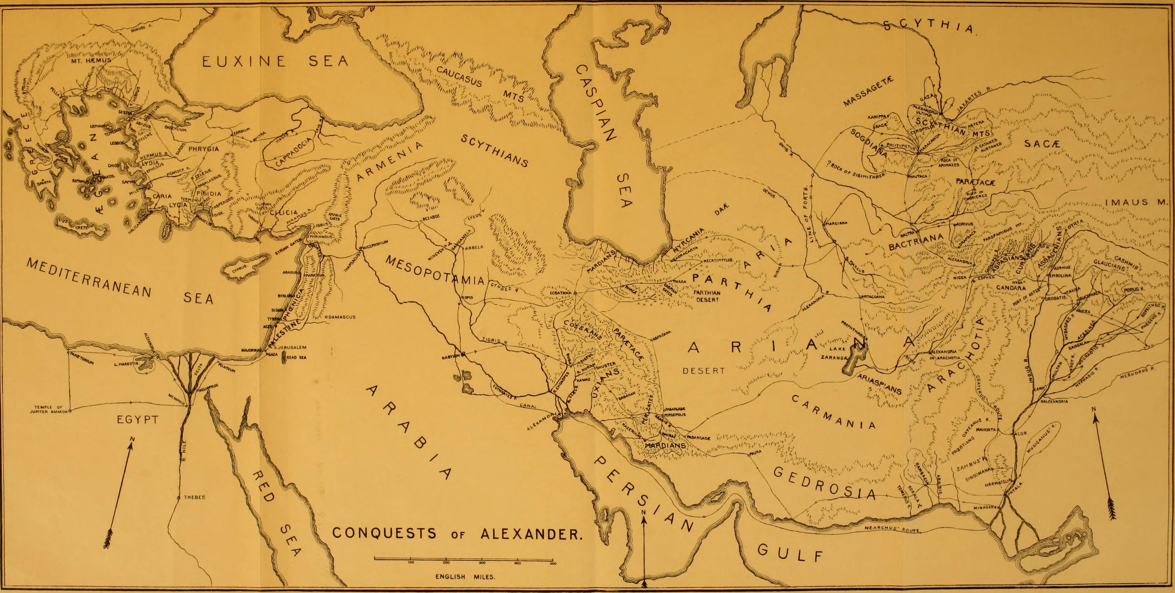 ancient macedonia map