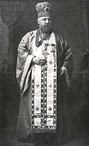 Alexis Toth Greek Catholic priest, later Russian Orthodox priest and protopresbyter; Eastern Orthodox saint