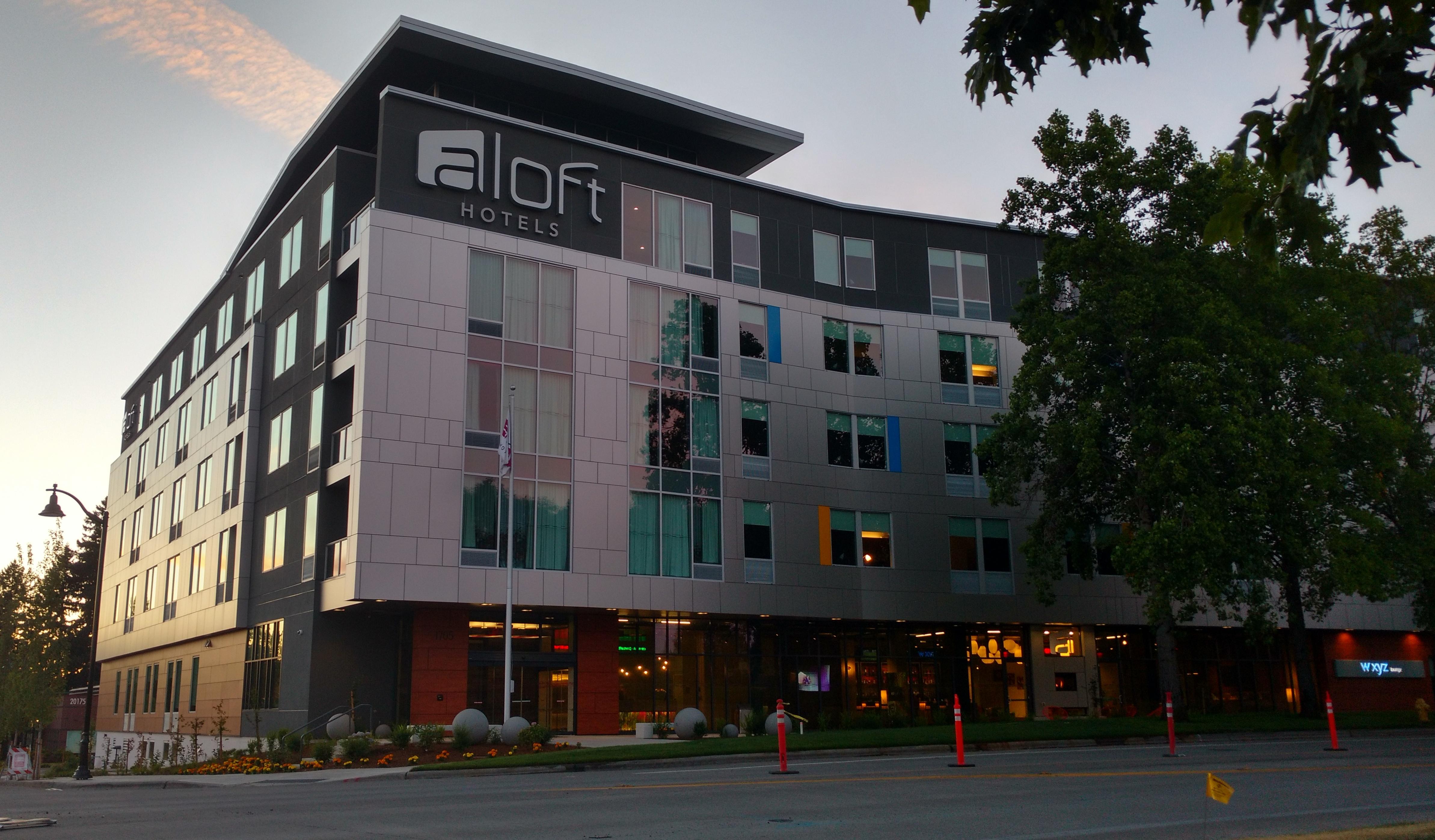 File Aloft Hotel Wide Hillsboro Oregon Jpg