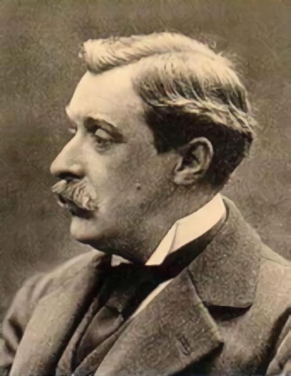 Человек, похожий на Альфонса Алле (конец XIX века)