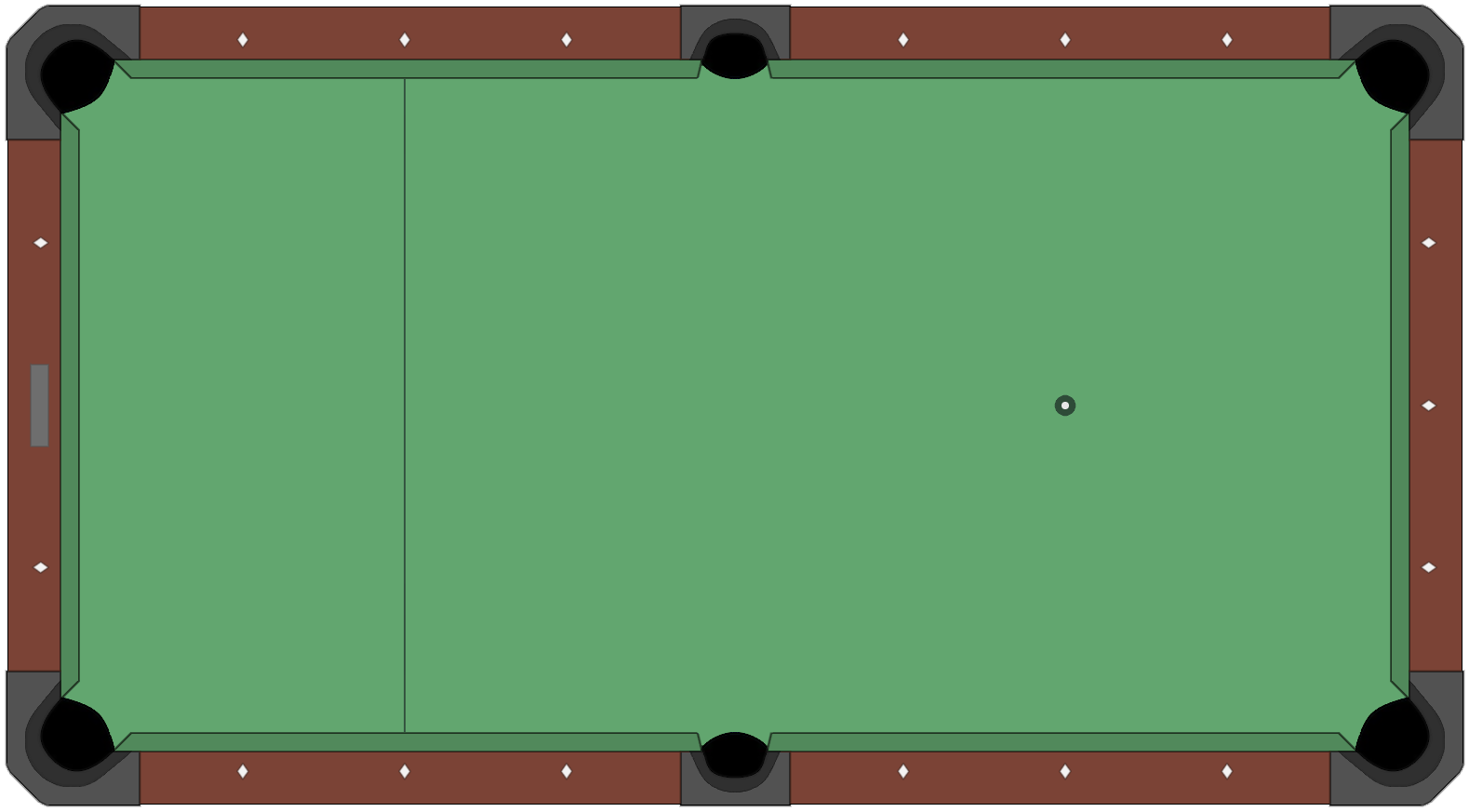 File american style pool table diagram empty png for Table wikipedia