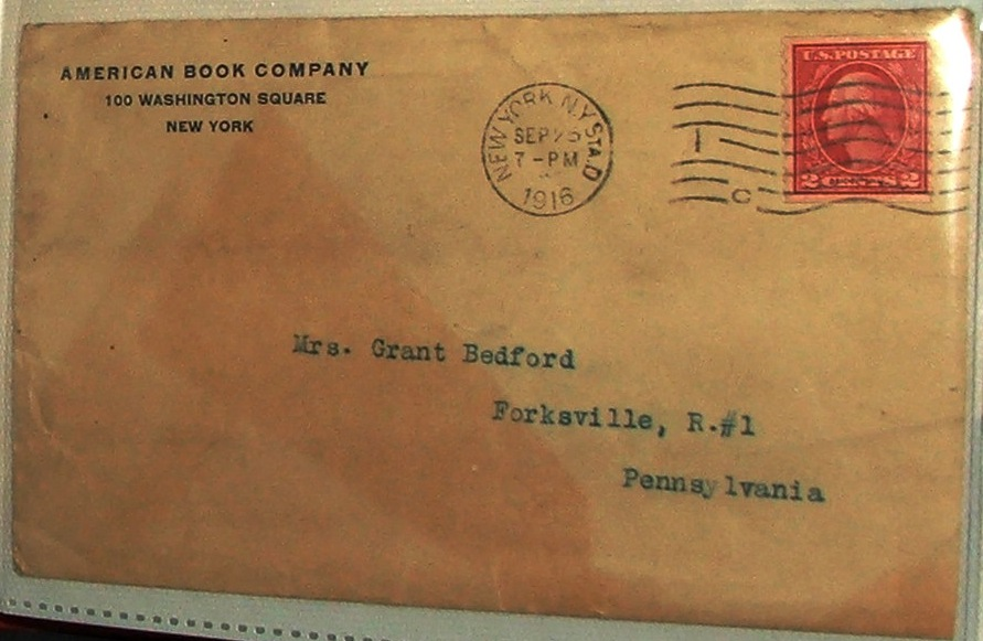 FileAmerican Book Company 1916 Letter Envelope 2JPG