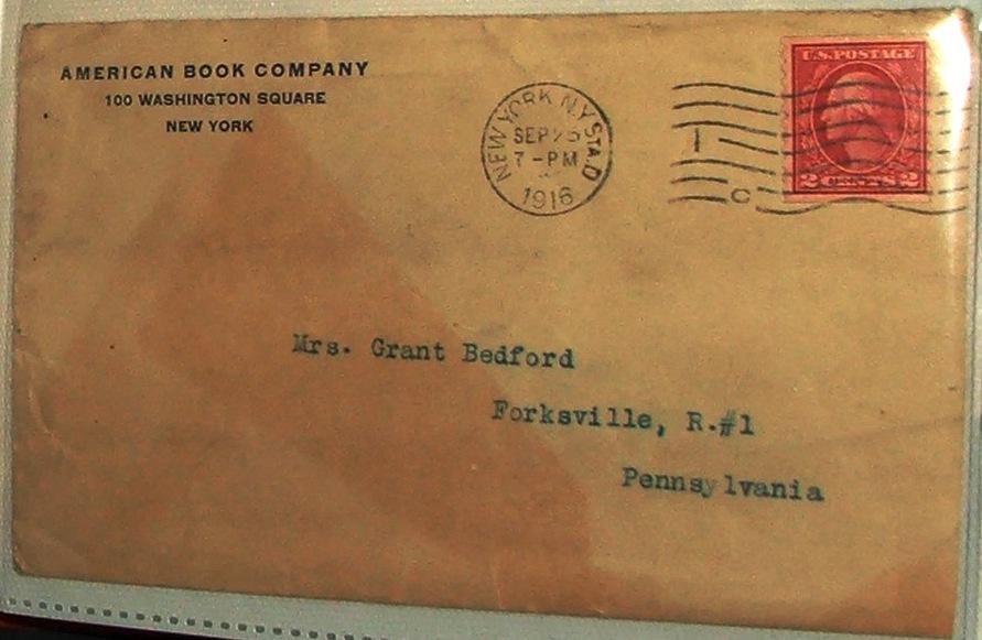 letter envelope to from. letter envelopes