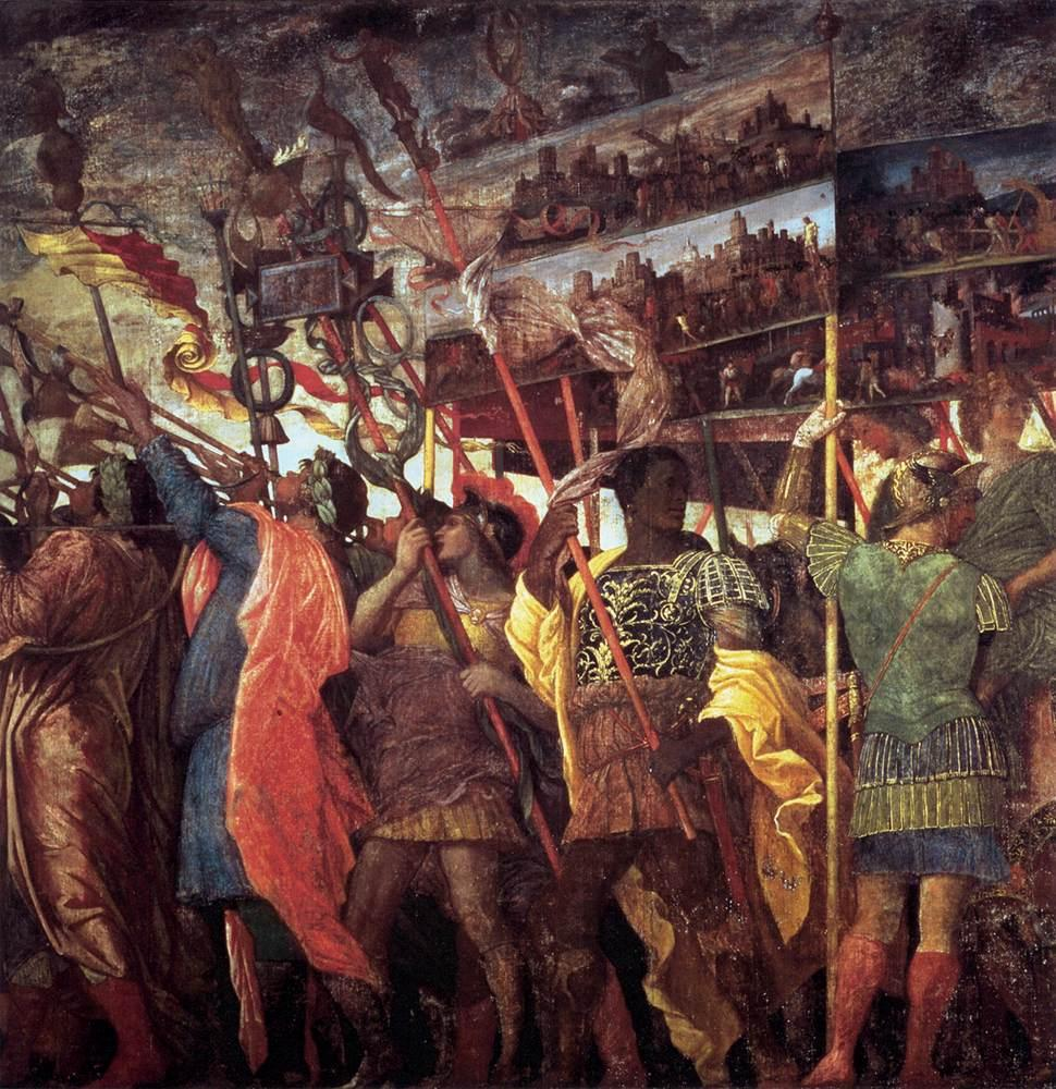 https://upload.wikimedia.org/wikipedia/commons/5/5e/Andrea_Mantegna_-_The_Triumphs_of_Caesar_-_Trumpeters_and_Standard-Bearer_-_WGA13990.jpg