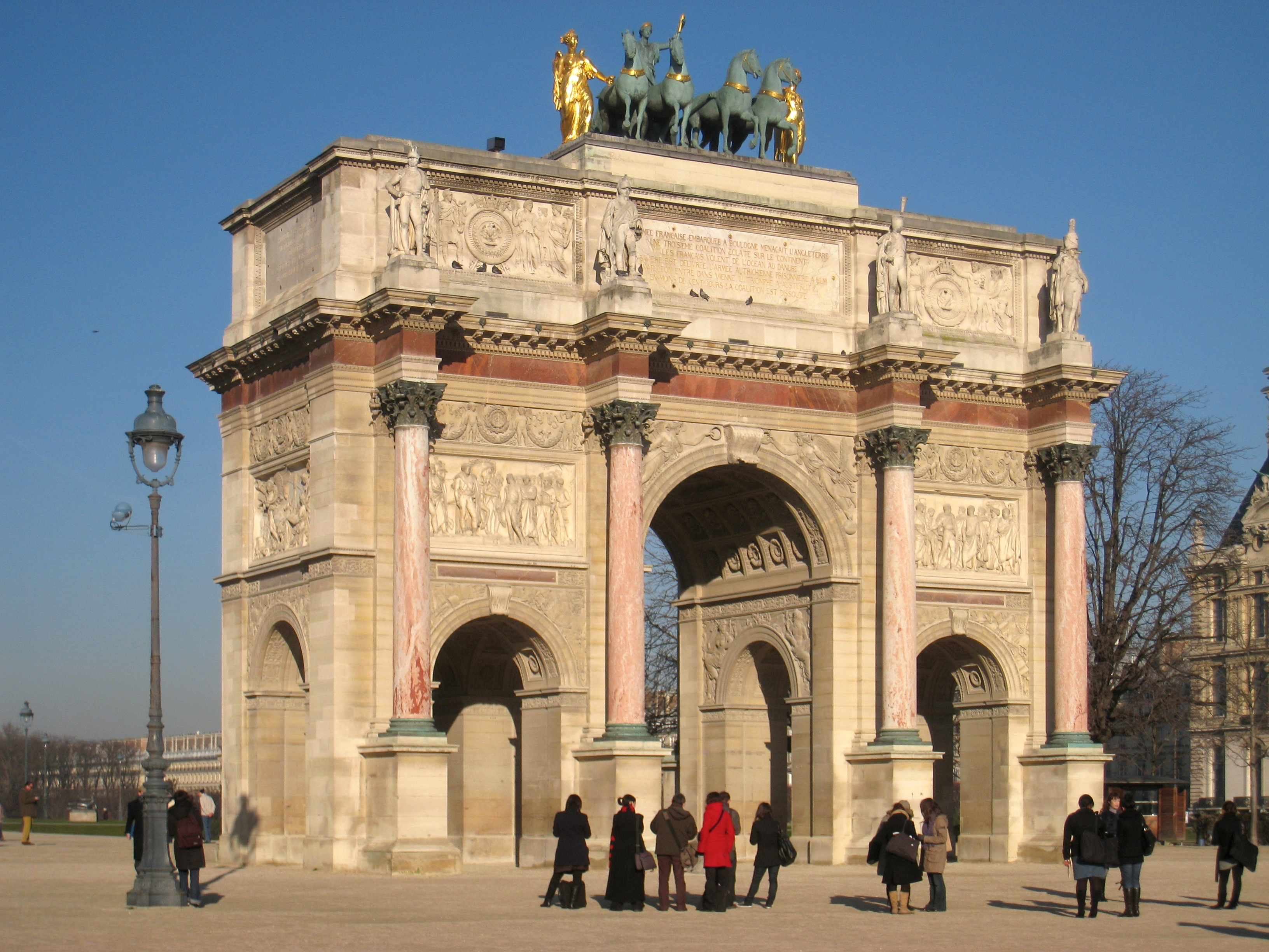 file arc de triomphe du carrousel paris france jpg wikimedia commons. Black Bedroom Furniture Sets. Home Design Ideas