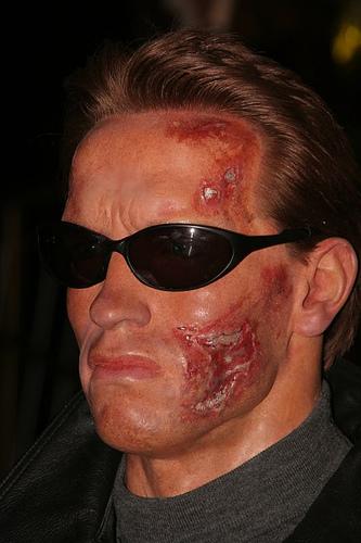 Arnold Schwarzenegger T-800 (Madame Tussauds)