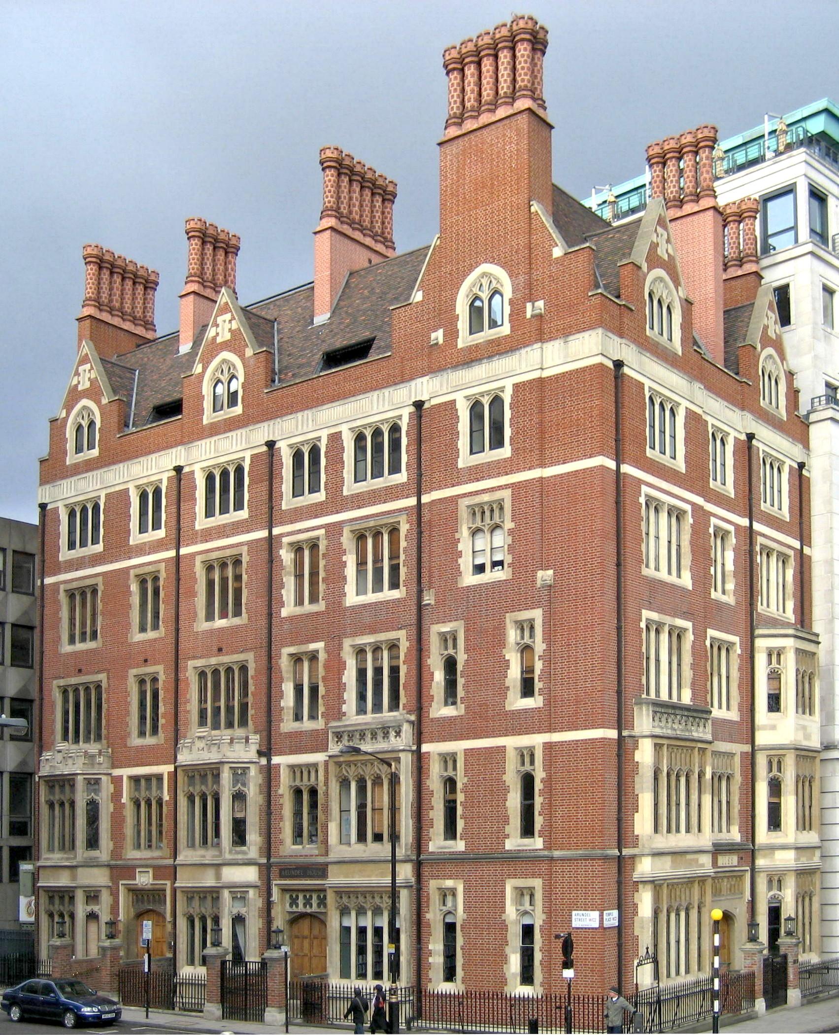 [[Arundel House]], [[Temple, London|Temple]], London