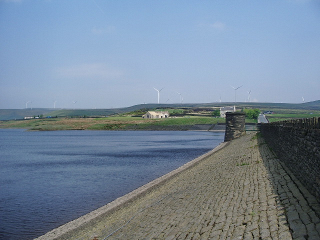 Ashworth Moor Reservoir - geograph.org.uk - 816619
