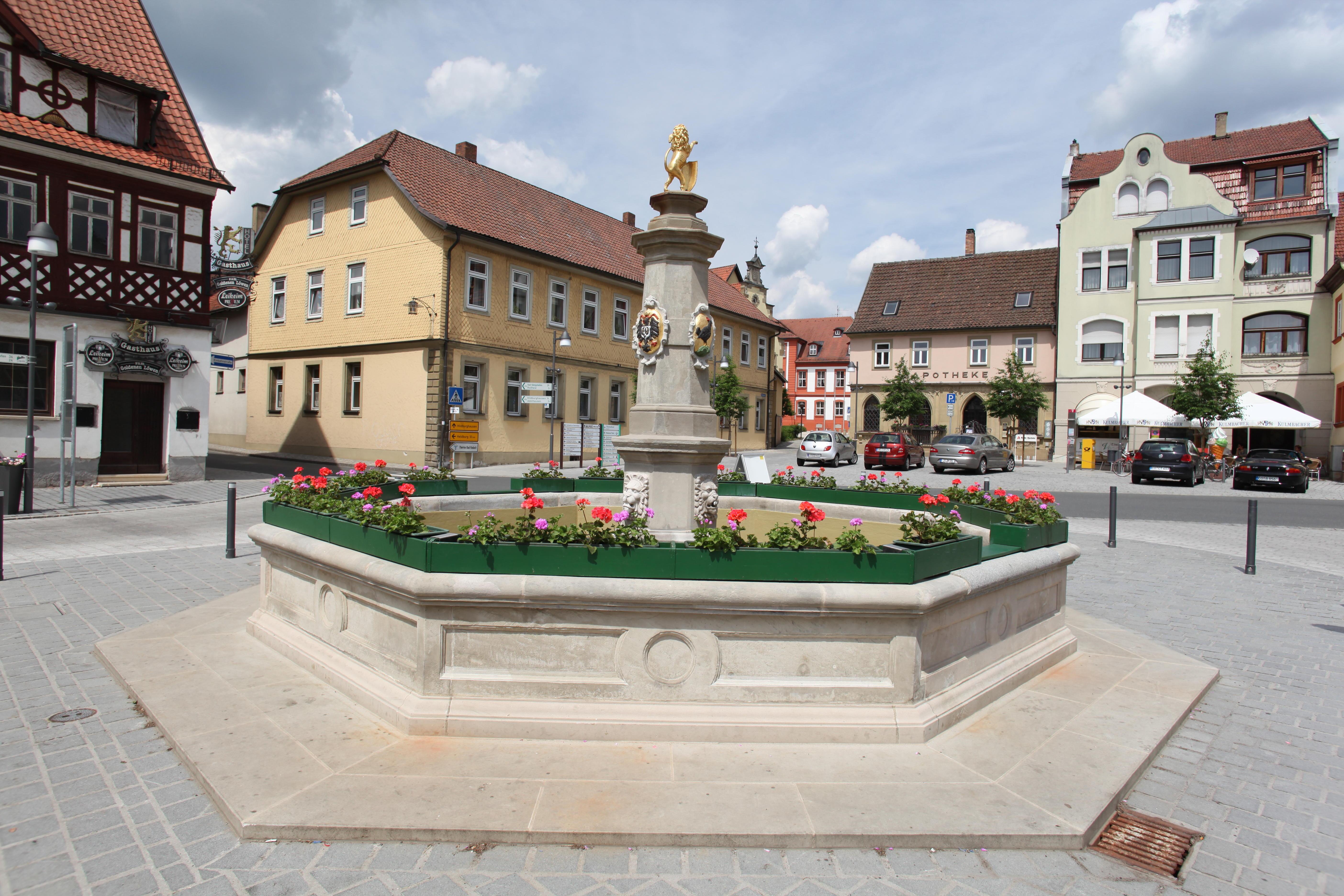 Datei Bad Rodach Marktplatz Brunnen Jpg Wikipedia