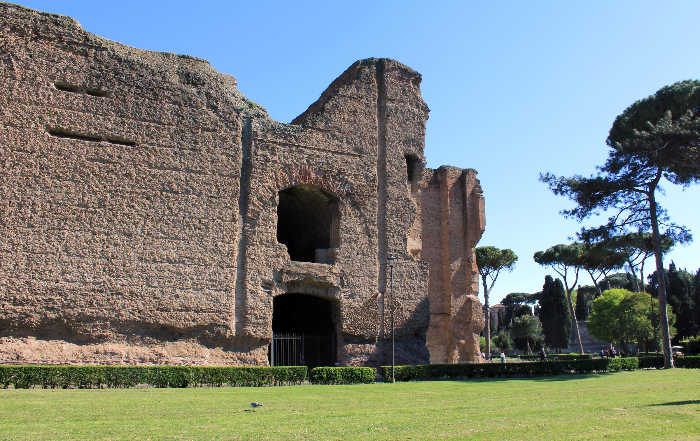 Baths Of Caracalla Rome