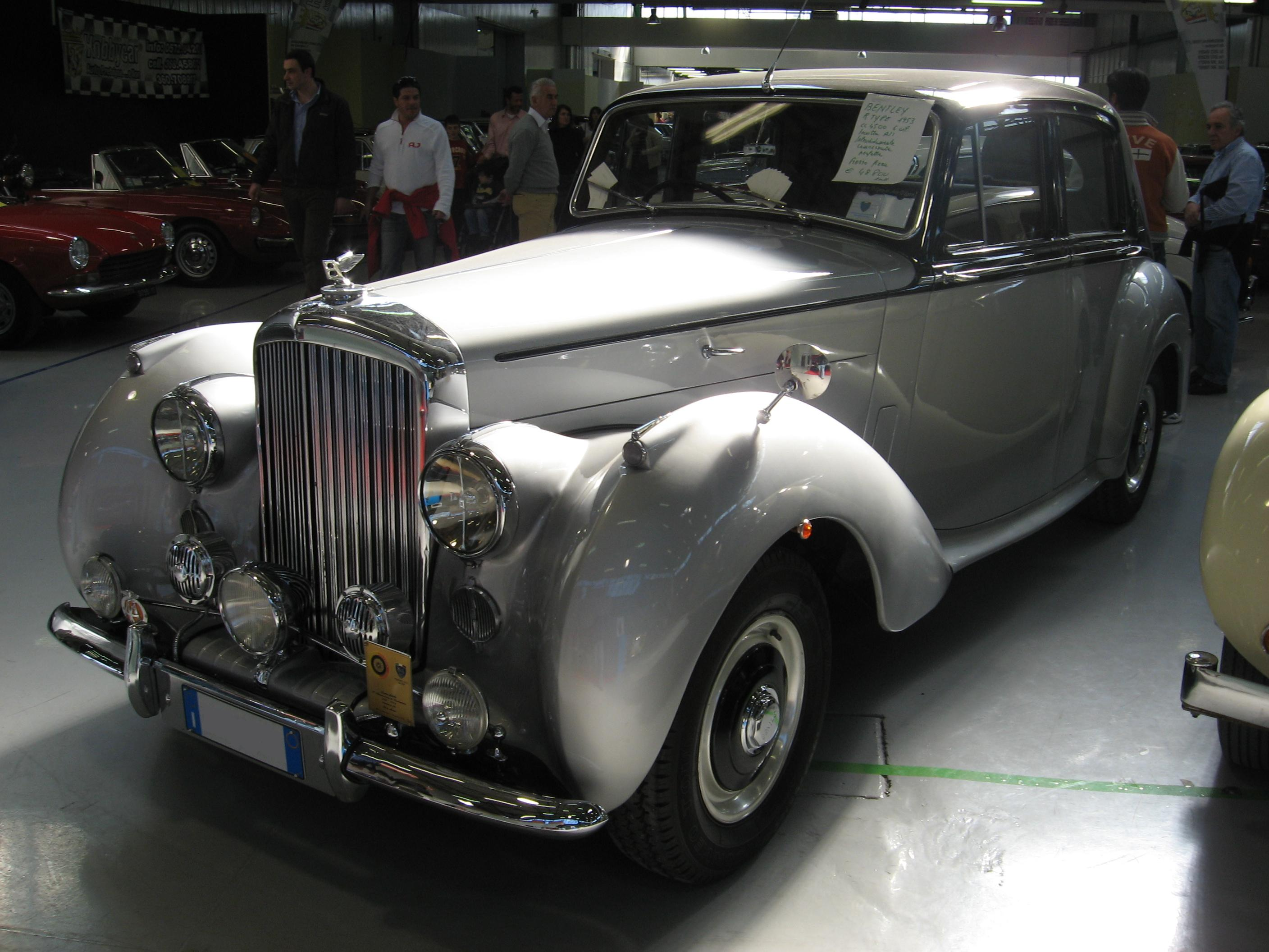 File Bentley R Type At The Old Time Show In Italy Jpg