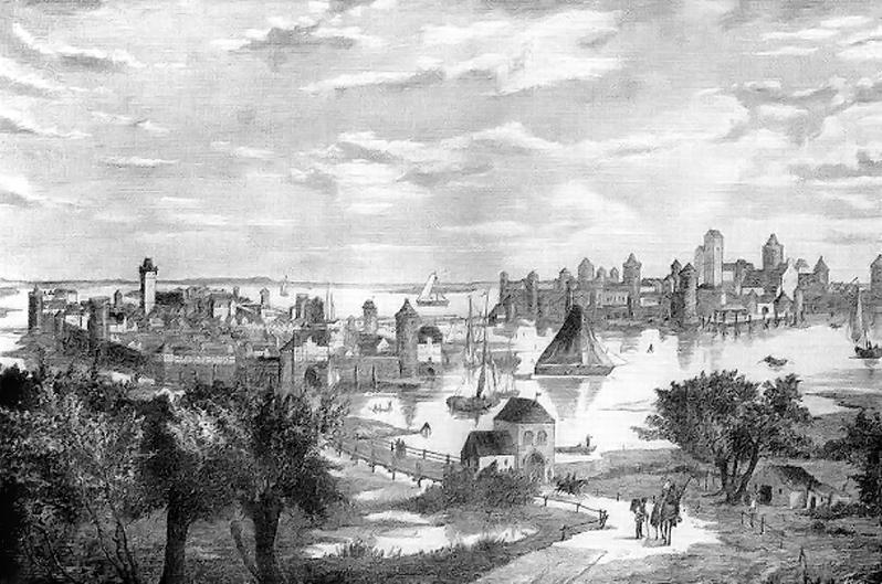 Berlin und Cölln um 1250