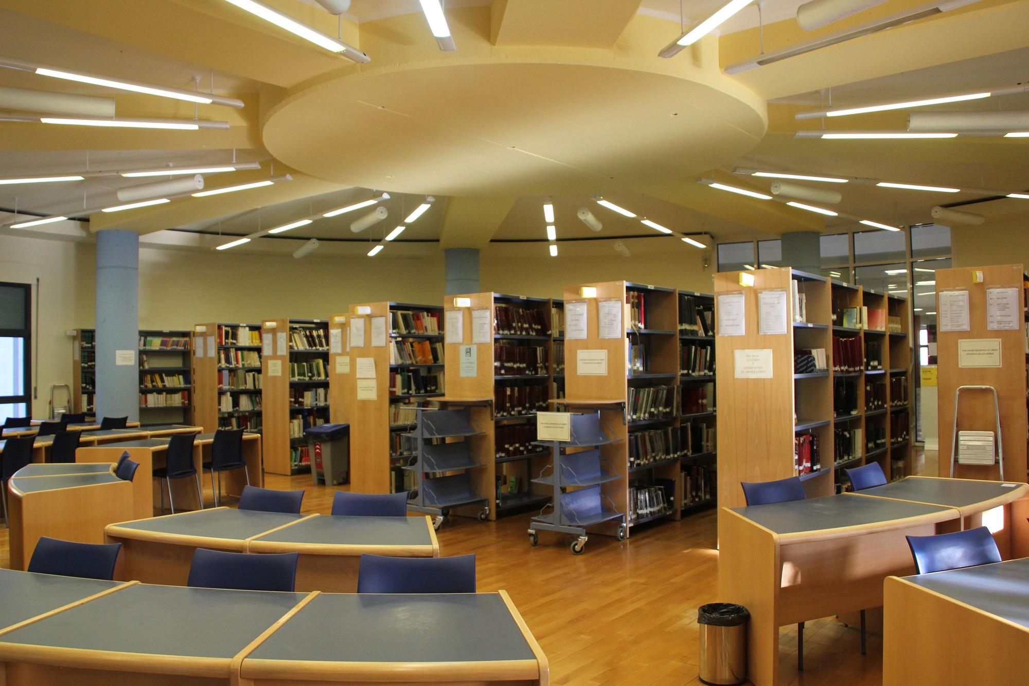 File biblioteca facultad de filosof a y letras - Escuela de arquitectura de valladolid ...