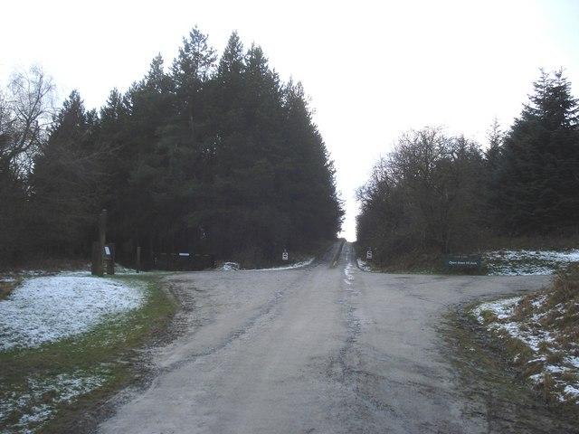 Bike trail start point in Hopton Wood - geograph.org.uk - 654104