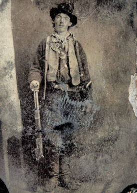Billy the Kid Ferrotype