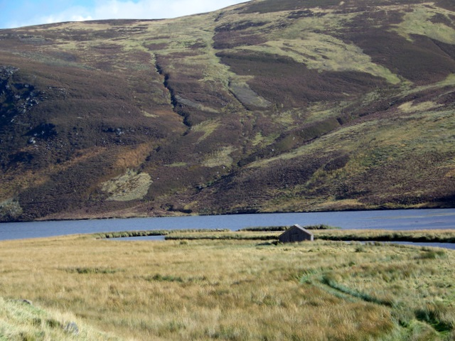 Boathouse on Loch Lee - geograph.org.uk - 1542165