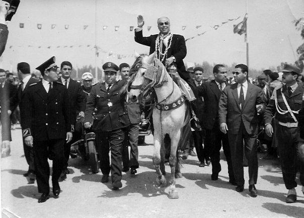 Aujourd'hui, célébration du 56 ème anniversaire de l'Indépendance Bourguiba_cheval