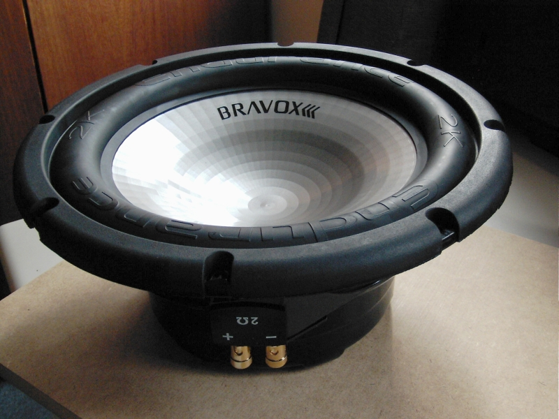 A big subwoofer with two ohms impedance