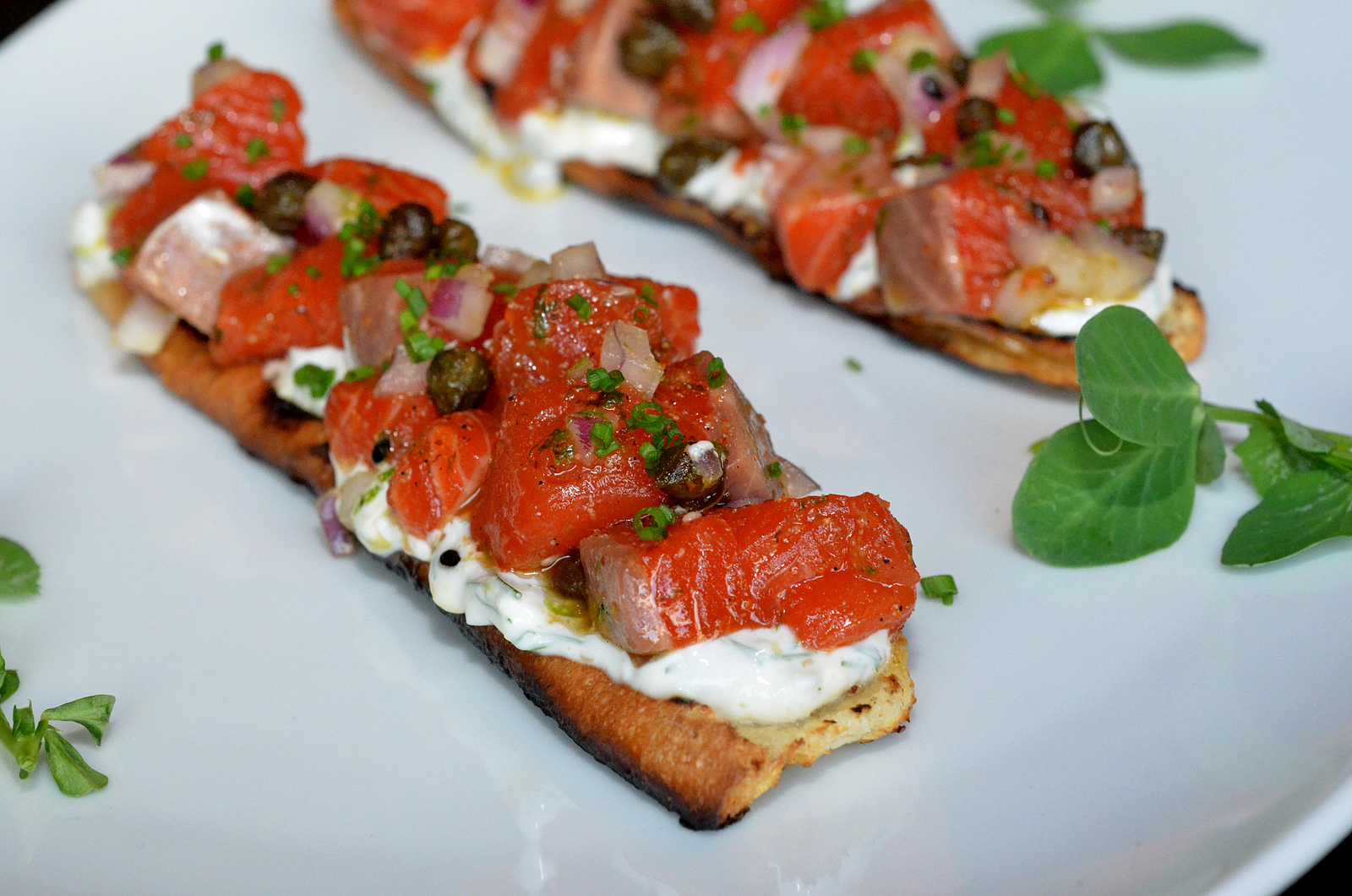 Sockeye Salmon Tartare Recipe — Dishmaps