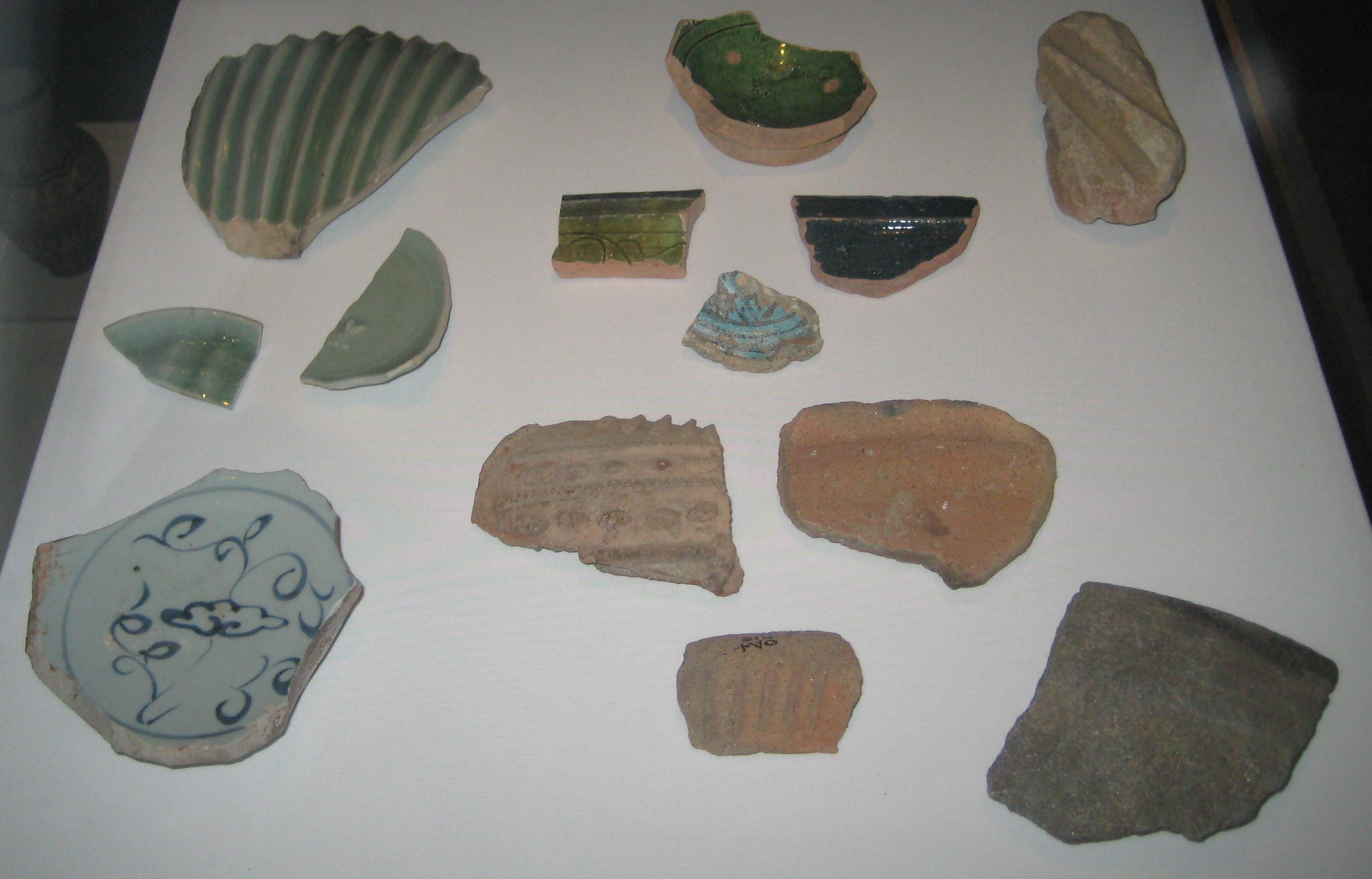 dating pottery sherds Definition of sherd in english  graves and several excavations have produced pottery sherds,  pottery and a small bronze awl probably dating from about .