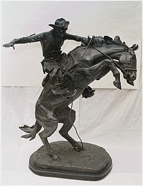 Frederic remington military wiki fandom powered by wikia for Original sculptures for sale