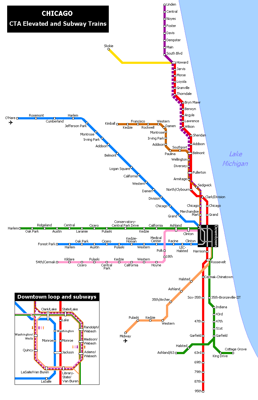 Chicago Subway Map Picture.File Cta Map Png Wikimedia Commons