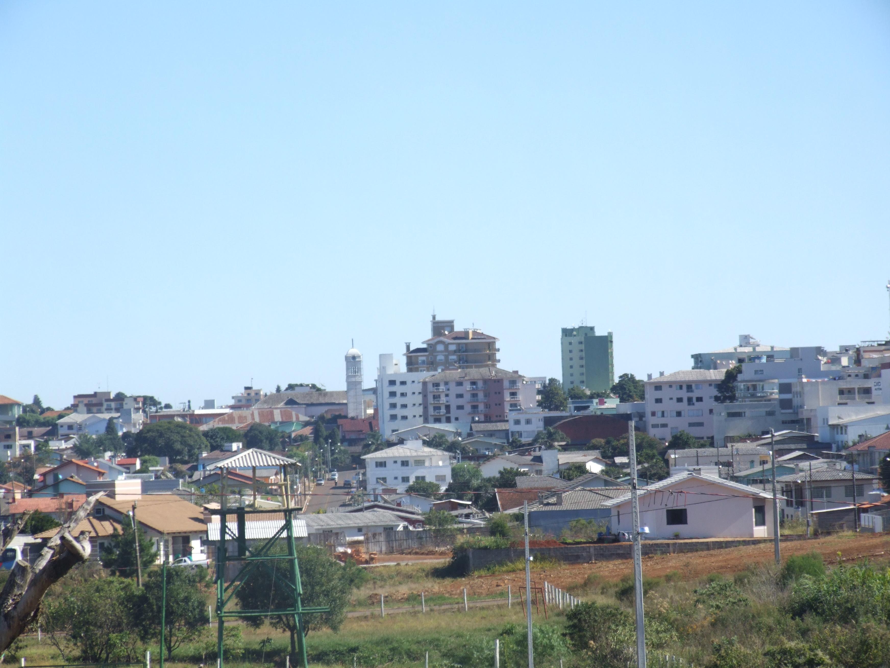 Vista parcial de Campos Novos