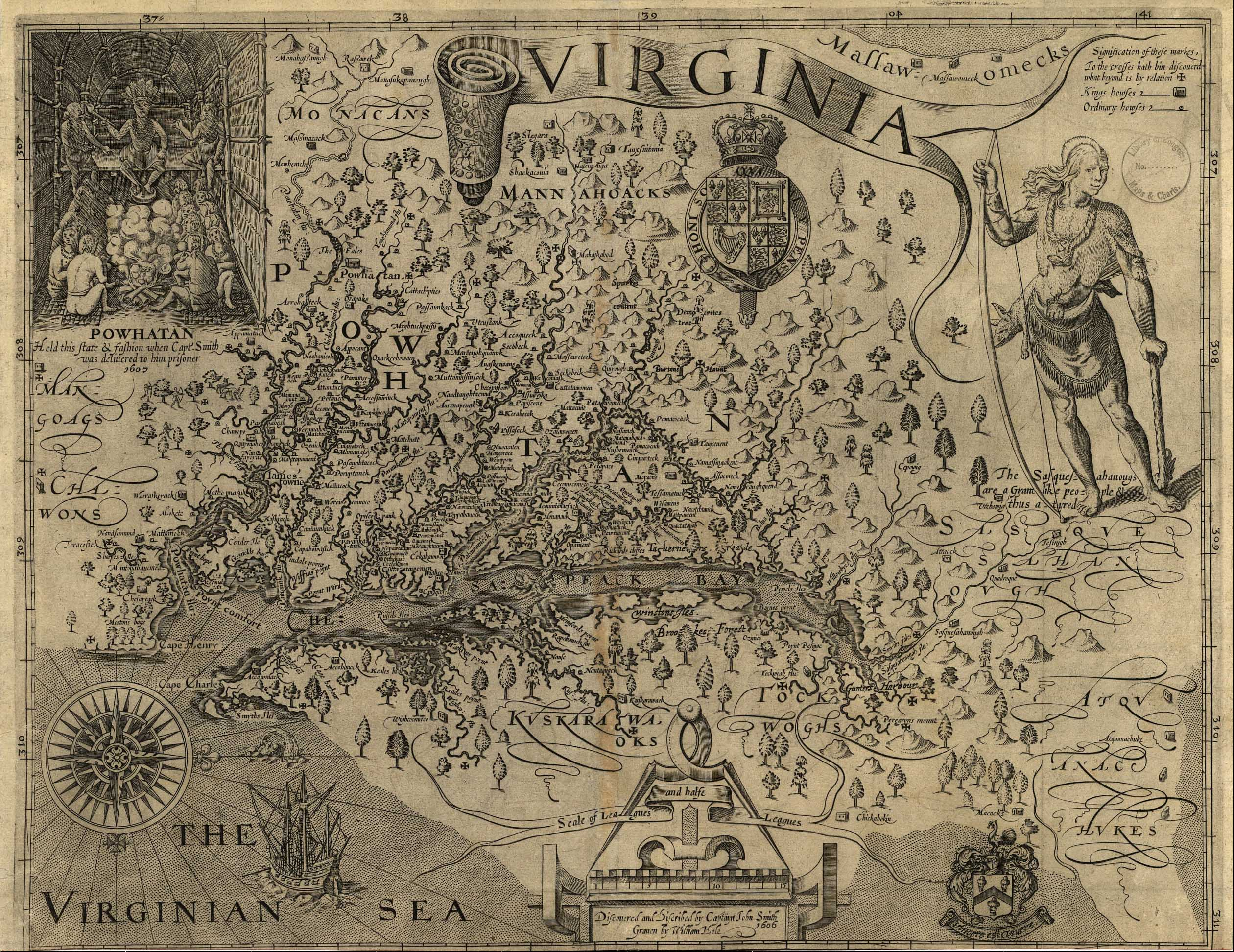 FileCapt John Smiths Map Of Virginia Jpg Wikimedia Commons - Map of virgina