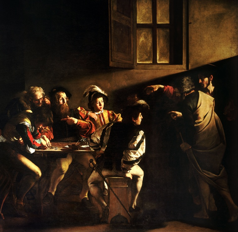 File:Caravaggio's The Calling of St Matthew.jpg ...