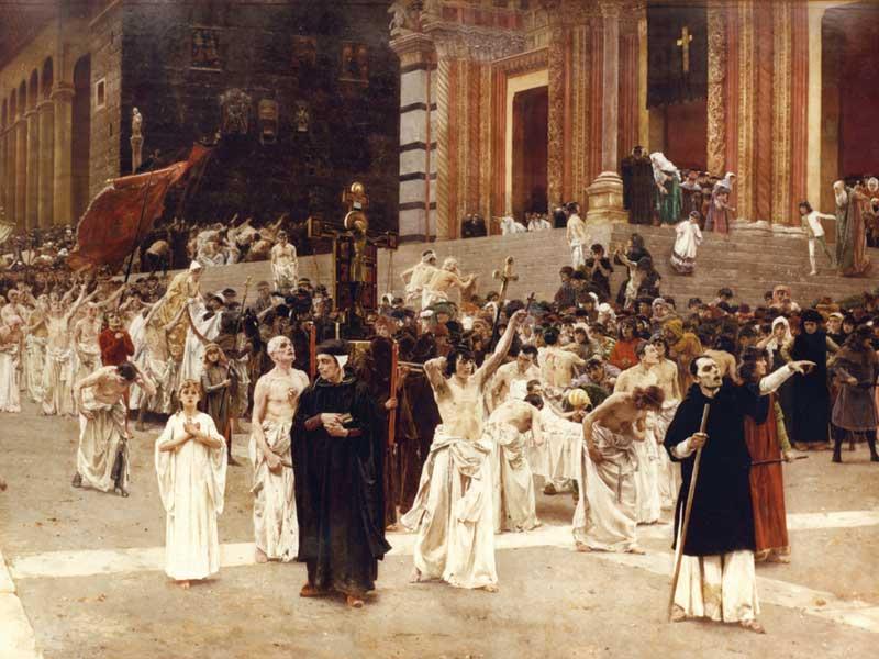 Carl von Marr  Flagelanci
