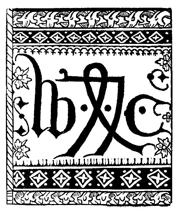 Depiction of William Caxton