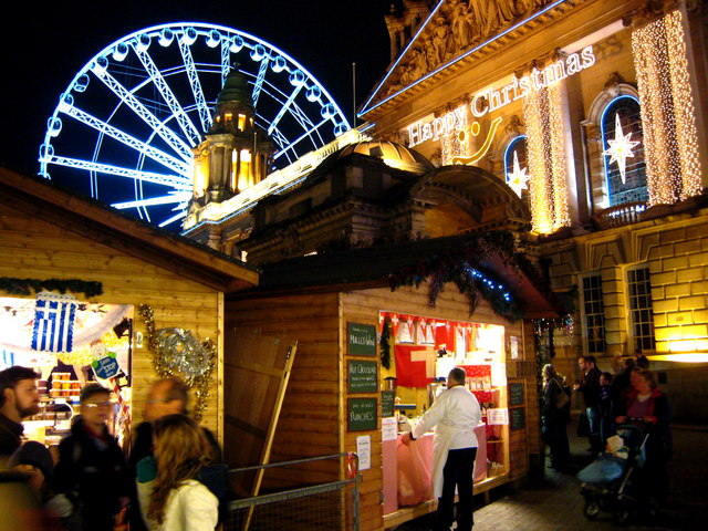Christmas Market in Belfast (2) - geograph.org.uk - 633559