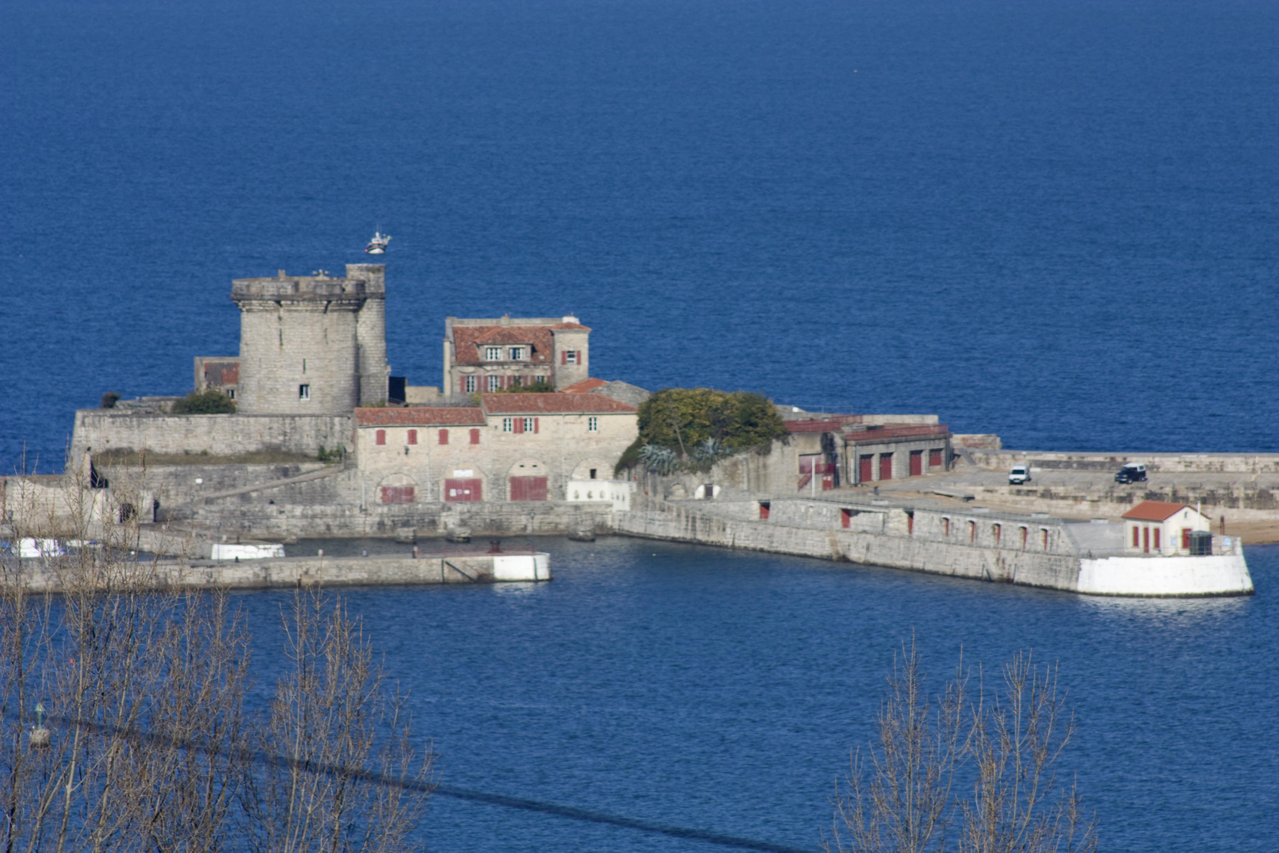 File ciboure tour de bordagain fort de - Fort de socoa ...