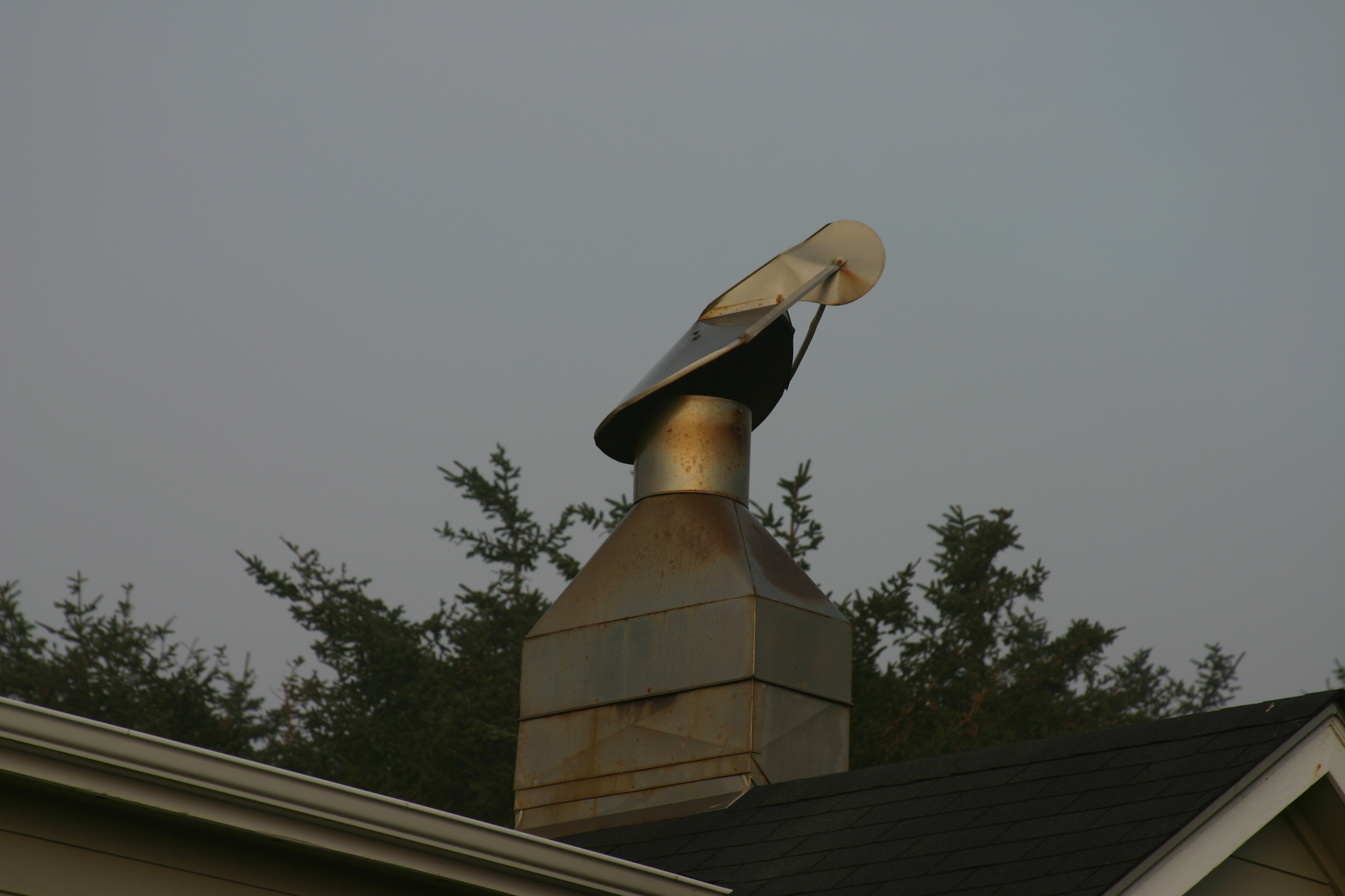 File Common Wind Chimney Cap Found On Homes Along The