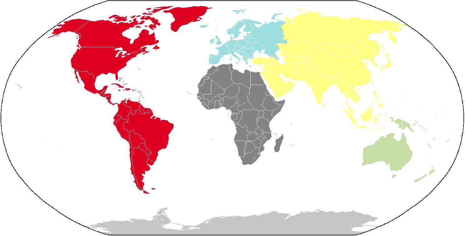 Cuales Son Los 6 Continentes Del Planisferio: File:Continentes AM.png