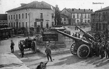 German troops in Damvillers.