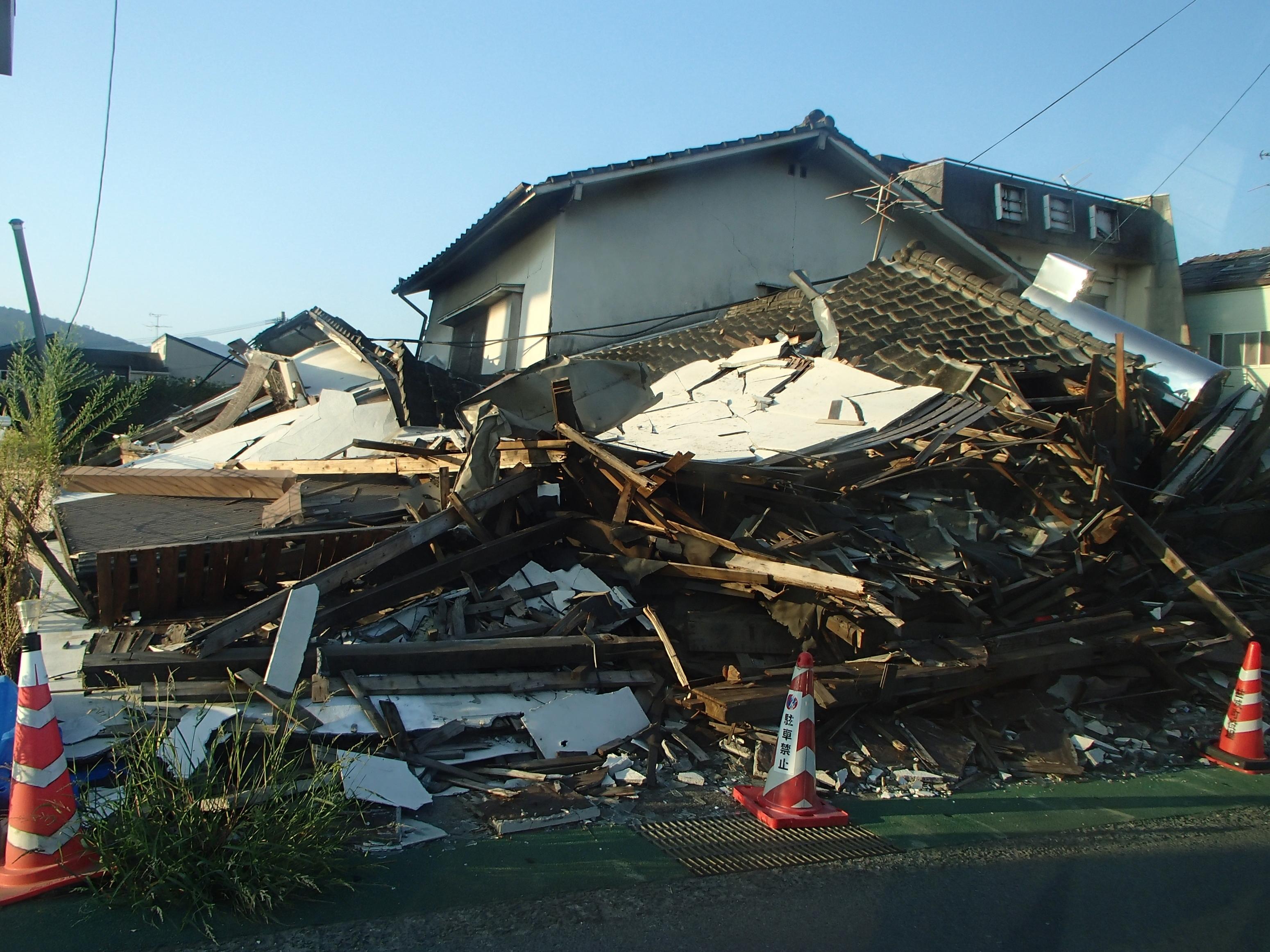 コム ドット 大 地震