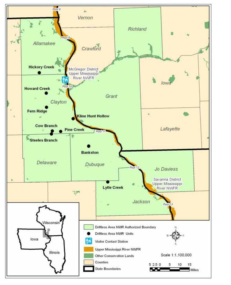 Wisconsin Driftless Area Map Quotes