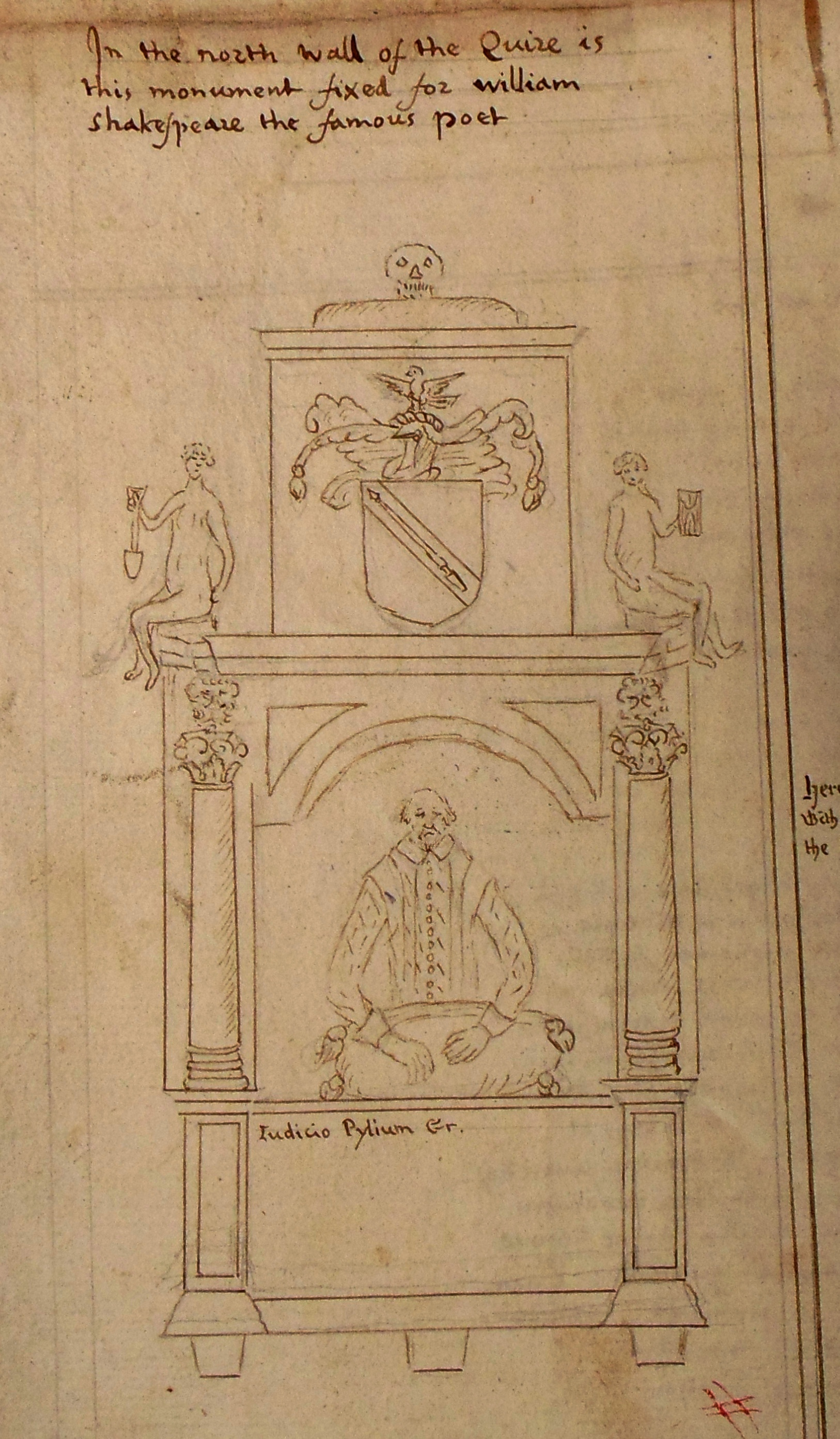 The Marlowe-Shakespeare Connection: Was the Monument Altered? by ...