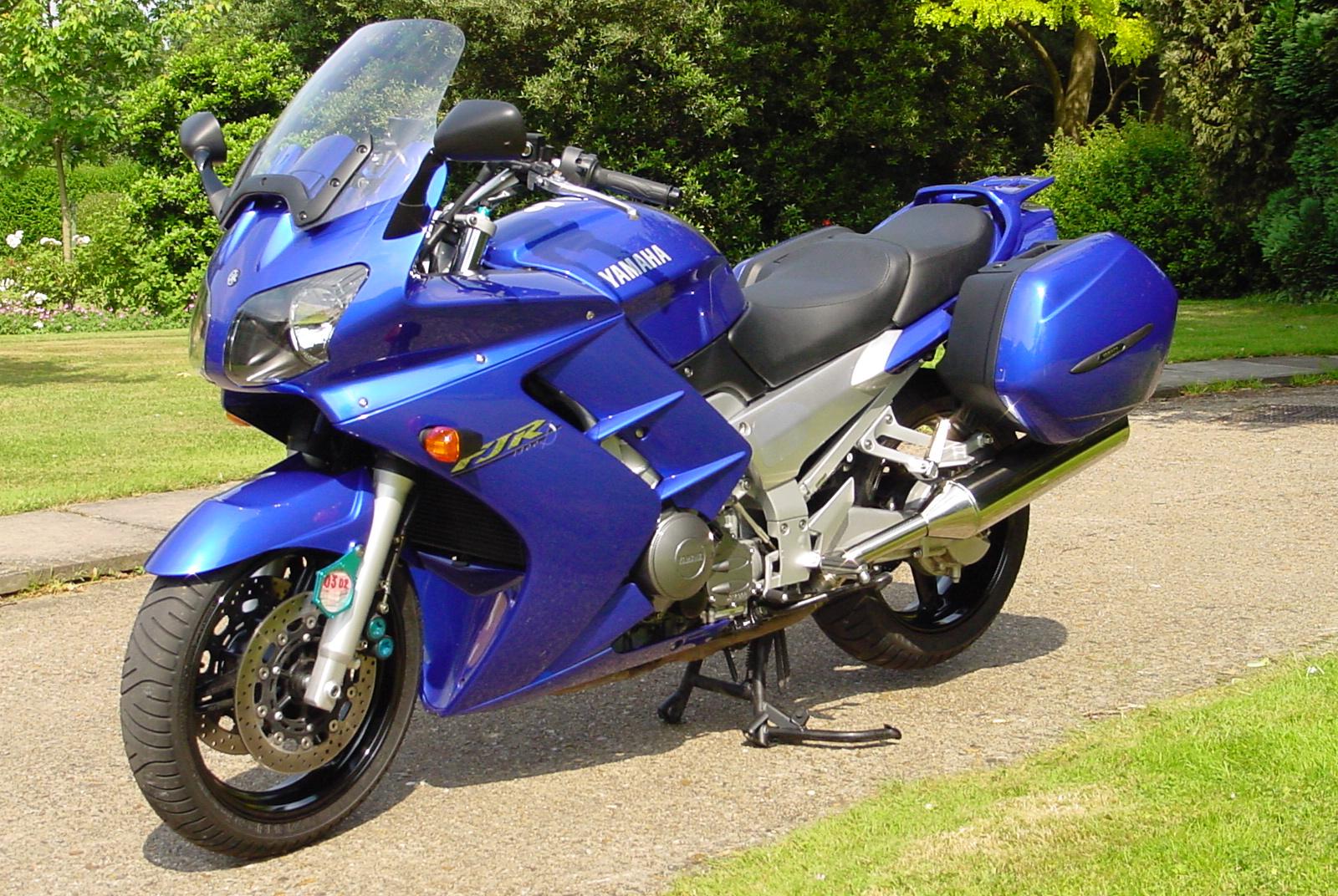 Blue Yamaha Fjr Side Cover