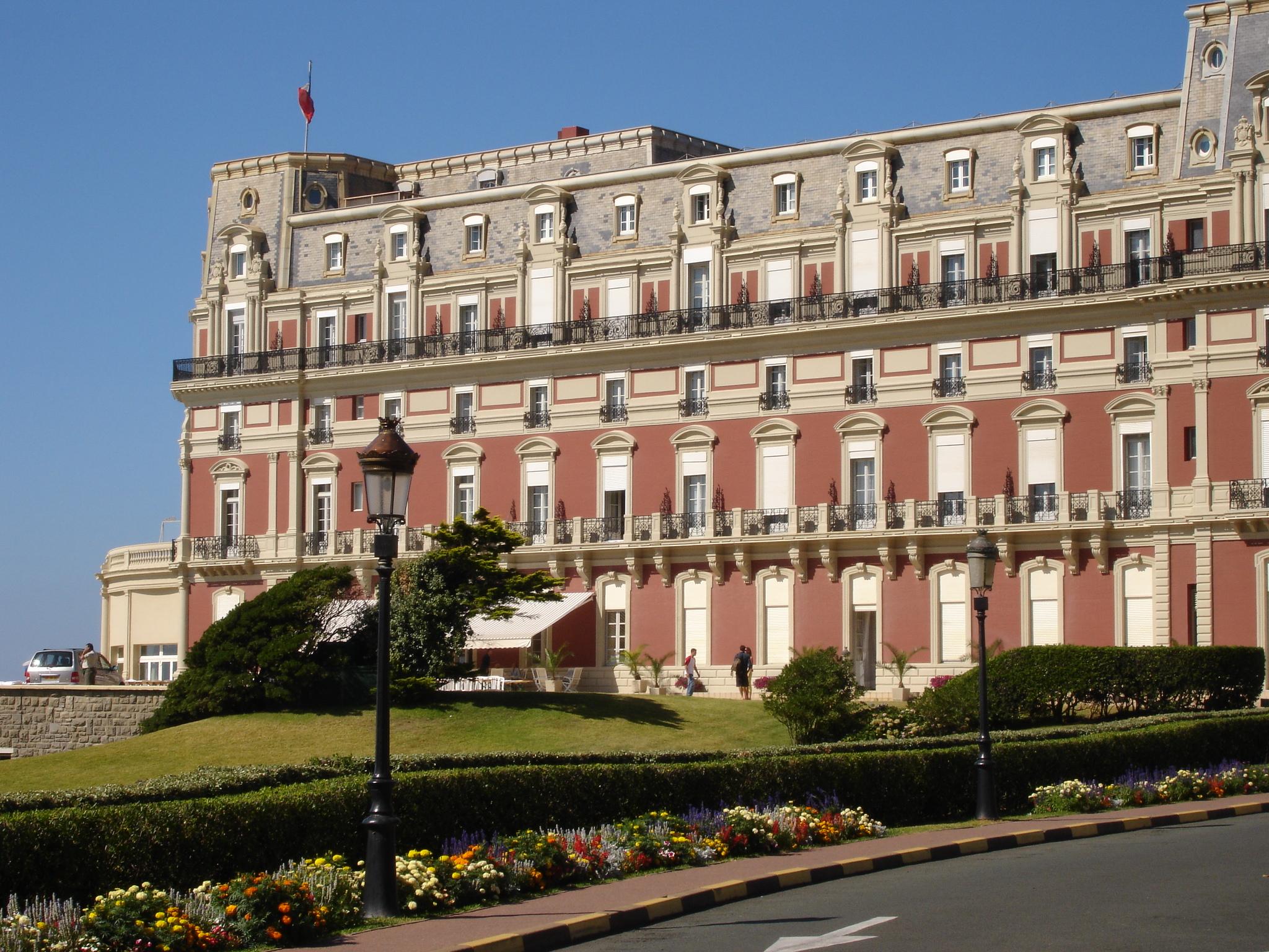 File france biarritz hotel du palais 2005 08 - Prix chambre hotel du palais biarritz ...