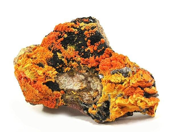 Minéraux et pierres précieuses - Page 24 Francevillite-Chervetite-Curienite-64420