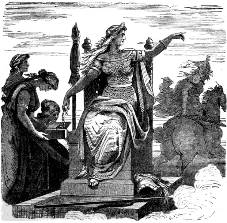 Frigg And Her Maidens