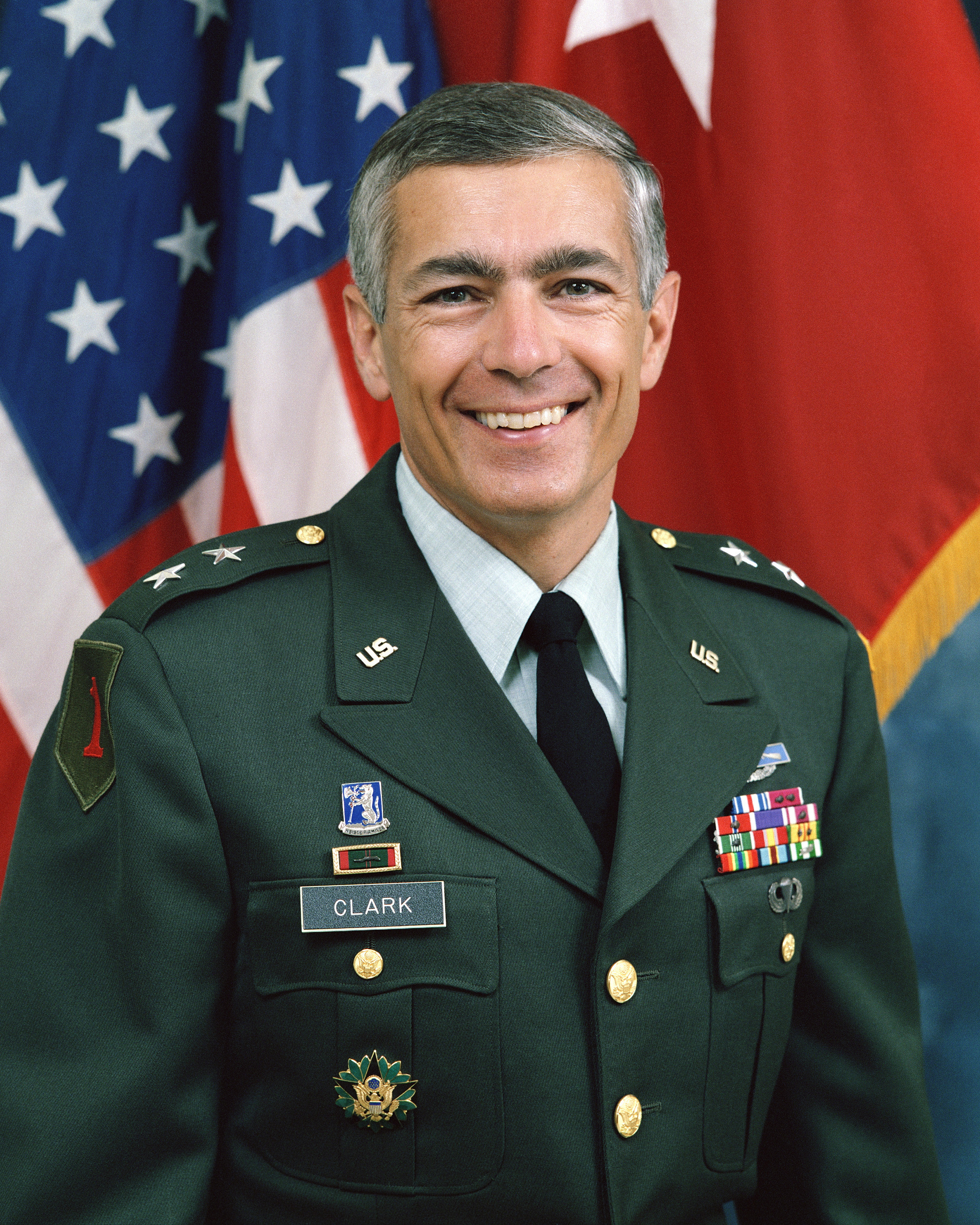 File:General Wesley Clark, official military photo, 1992.JPEG - Wikimedia Commons