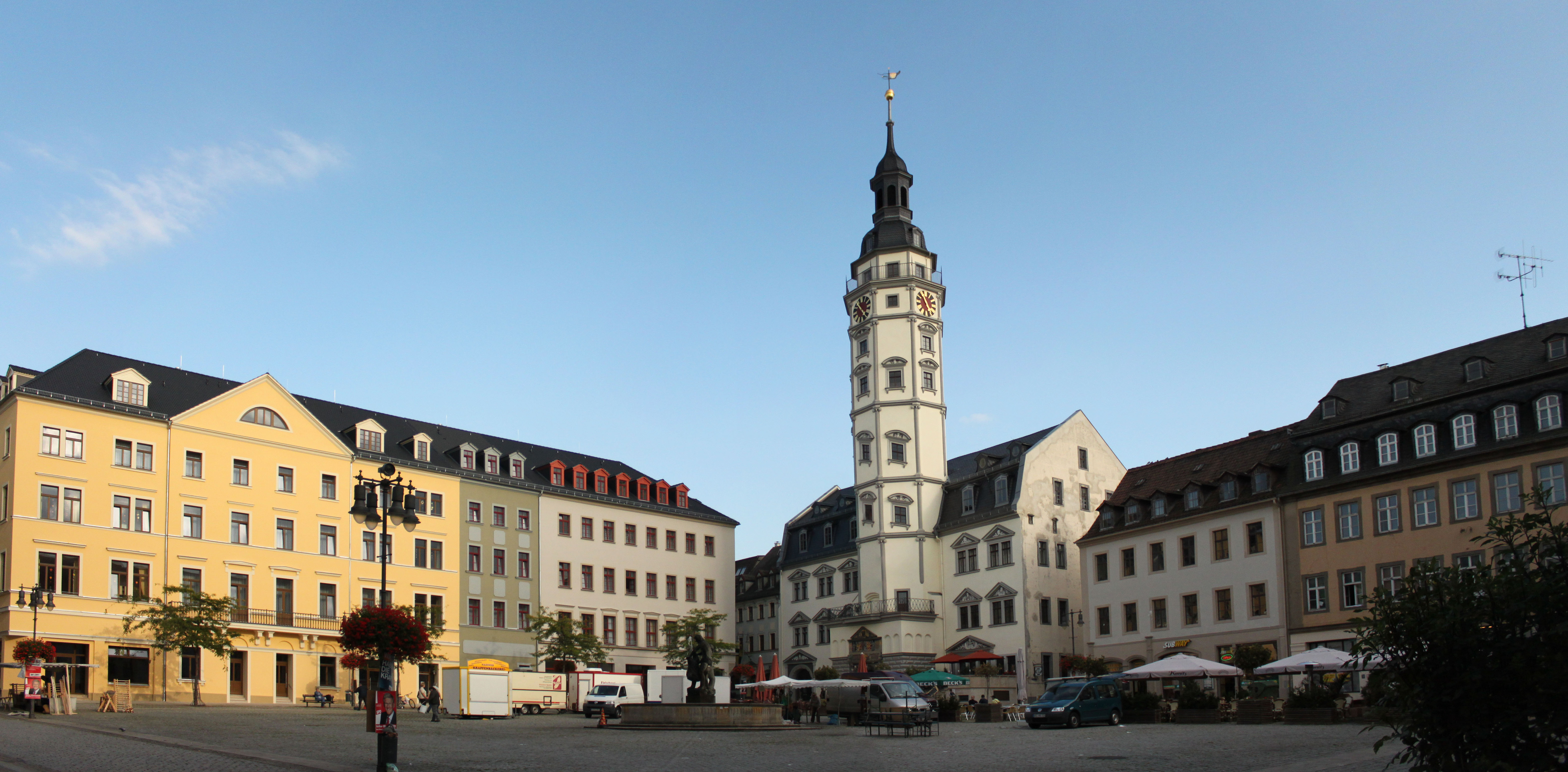 Gera Germany  City new picture : Gera Marktplatz Pan Wikimedia Commons