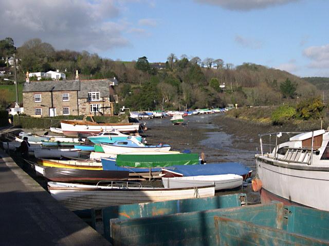 Golant Harbour - geograph.org.uk - 735901