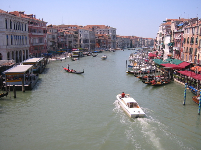 Une image du Grand Canal de Venise. (définition réelle 640×480)
