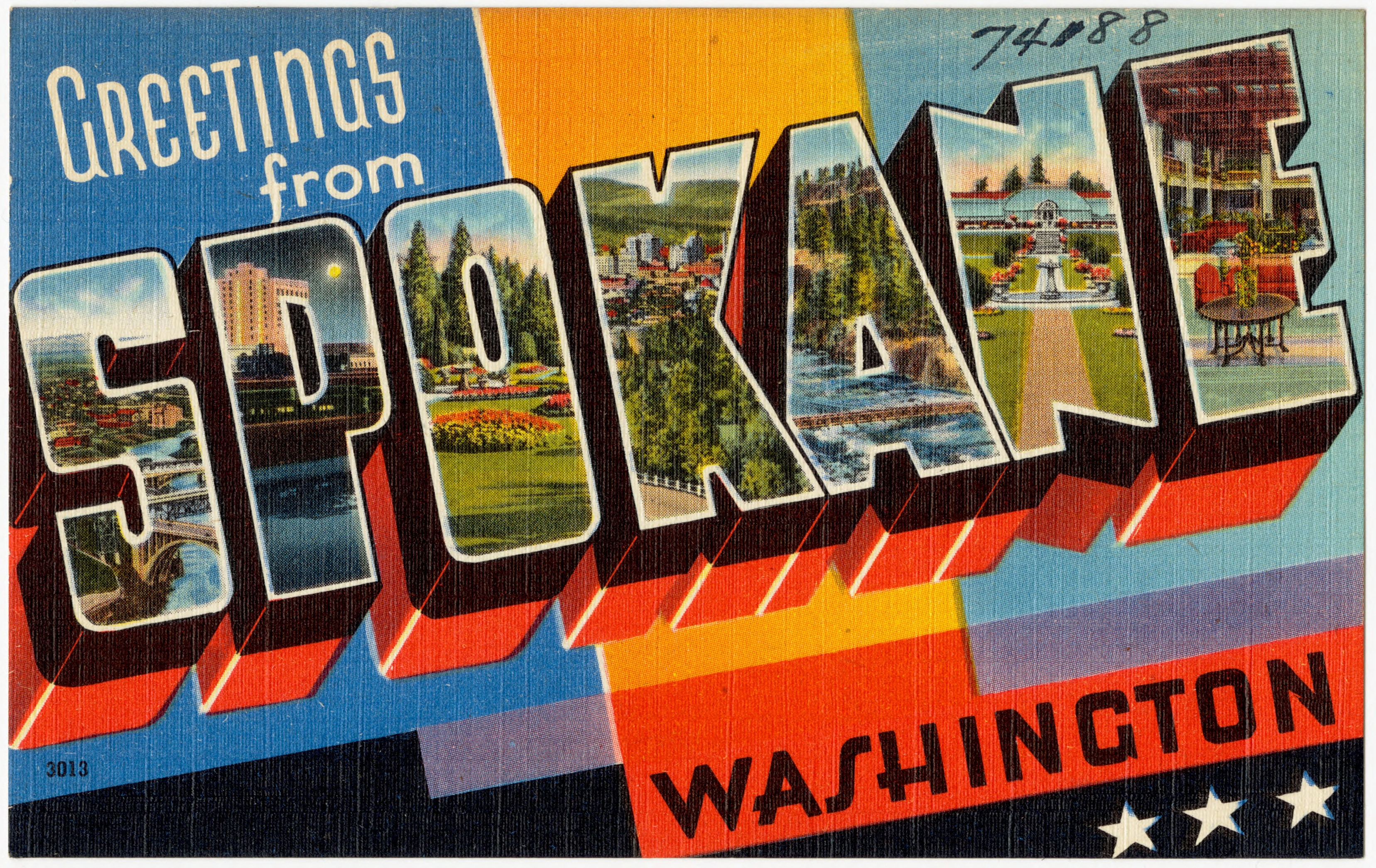"By Pub. by John W. Graham & Co., Spokane, Washington. ""Tichnor Quality Views,"" Reg. U. S. Pat. Off. Made Only by Tichnor Bros., Inc., Boston, Mass. [Public domain], via Wikimedia Commons"