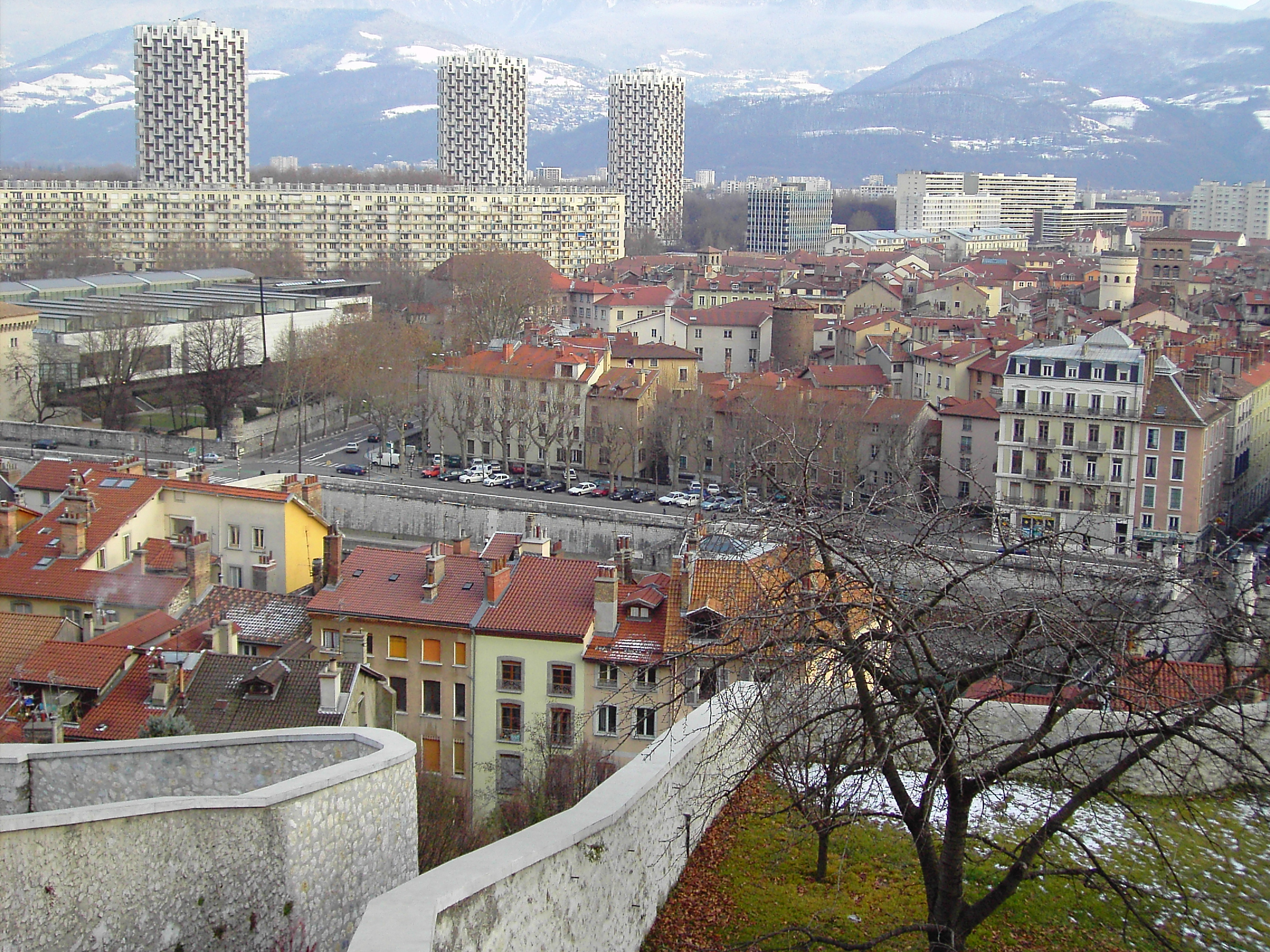 Grenoble France  City new picture : Grenoble France Wikimedia Commons