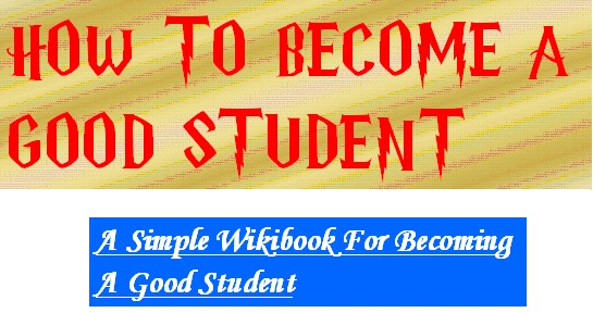 How To Become A Good Student